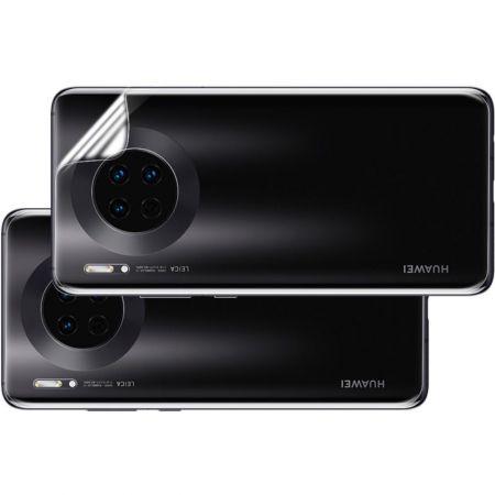 Ударопрочный бронированный IMAK чехол для Huawei Mate 30 с усиленными углами прозрачный + защитная пленка на экран