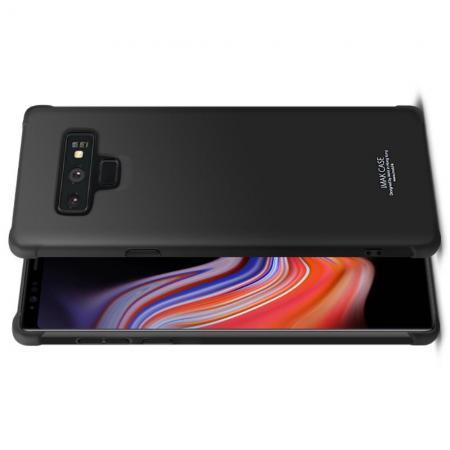 Ударопрочный бронированный IMAK чехол для Samsung Galaxy Note 9 с усиленными углами черный