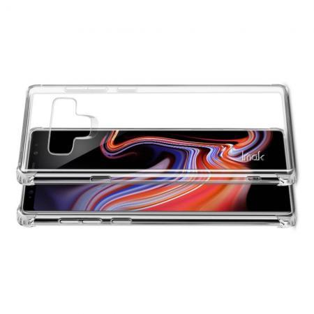Ударопрочный бронированный IMAK чехол для Samsung Galaxy Note 9 с усиленными углами прозрачный