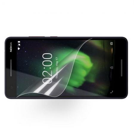 Ультра прозрачная глянцевая защитная пленка для экрана Nokia 2.1 2018