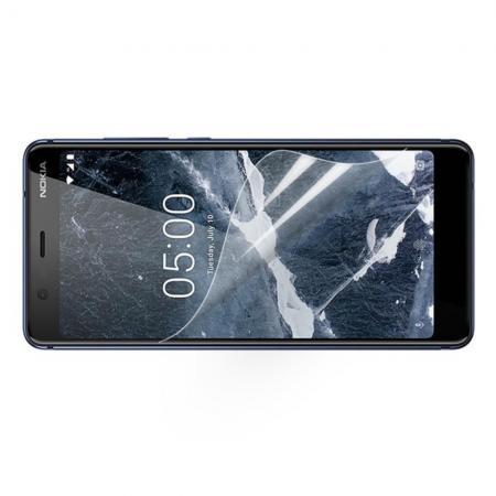 Ультра прозрачная глянцевая защитная пленка для экрана Nokia 5.1 2018