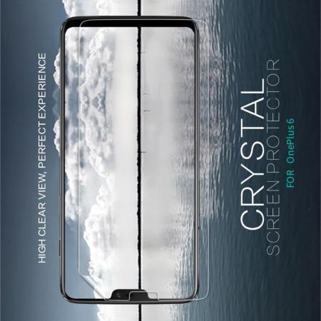 Ультра прозрачная глянцевая защитная пленка для экрана OnePlus 6