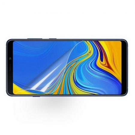 Ультра прозрачная глянцевая защитная пленка для экрана Samsung Galaxy A9 2018 SM-A920F