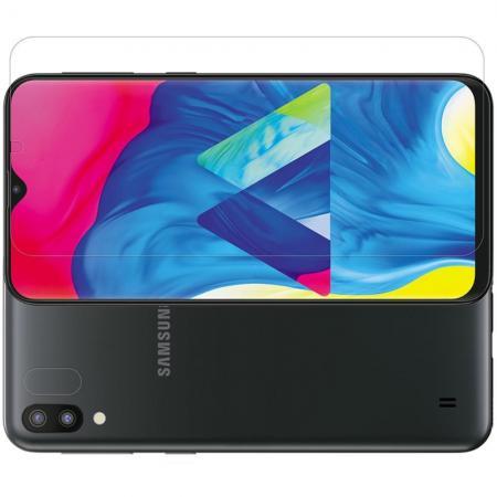 Ультра прозрачная глянцевая защитная пленка для экрана Samsung Galaxy M10