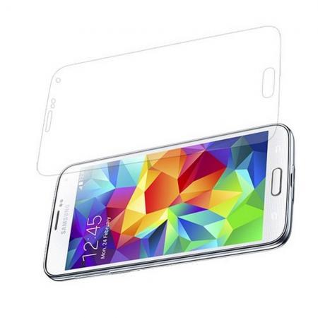 Ультра прозрачная глянцевая защитная пленка для экрана Samsung Galaxy S5