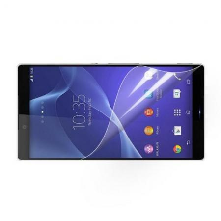 Ультра прозрачная глянцевая защитная пленка для экрана Sony Xperia Z3