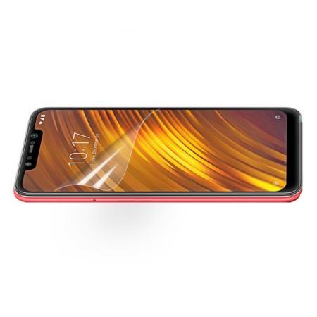 Ультра прозрачная глянцевая защитная пленка для экрана Xiaomi Pocophone F1