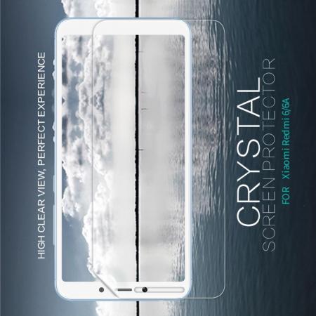 Ультра прозрачная глянцевая защитная пленка для экрана Xiaomi Redmi 6