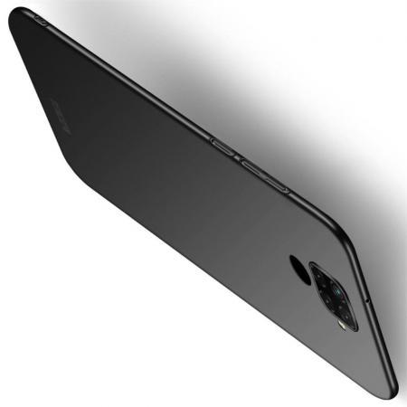 Ультратонкий Матовый Кейс Пластиковый Накладка Чехол для Huawei Mate 30 Lite Черный