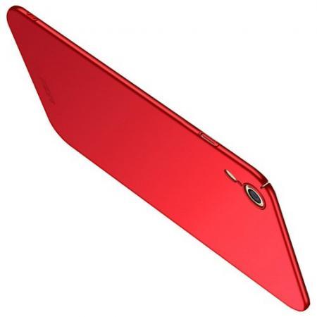 Ультратонкий Матовый Кейс Пластиковый Накладка Чехол для iPhone XR Красный