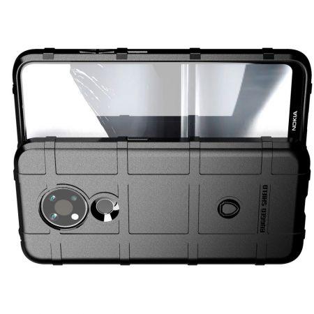 Матовый Кейс Накладка Чехол для Nokia 3.4 Черный
