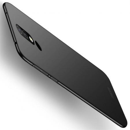 Ультратонкий Матовый Кейс Пластиковый Накладка Чехол для Nokia 4.2 Черный