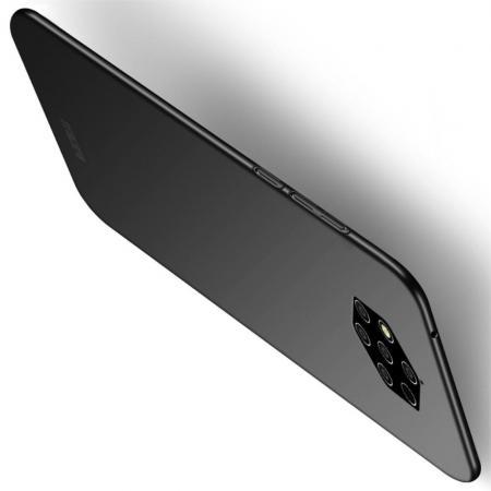 Ультратонкий Матовый Кейс Пластиковый Накладка Чехол для Nokia 9 PureView Черный