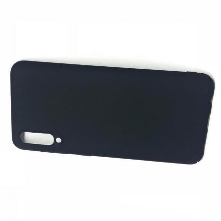 Ультратонкий Матовый Кейс Пластиковый Накладка Чехол для Samsung Galaxy A50 Черный