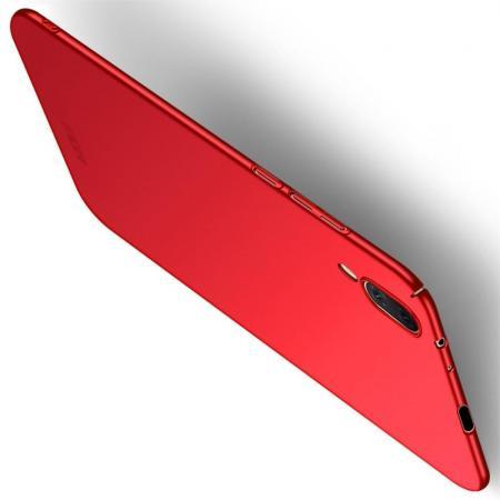 Ультратонкий Матовый Кейс Пластиковый Накладка Чехол для Vivo NEX S Красный