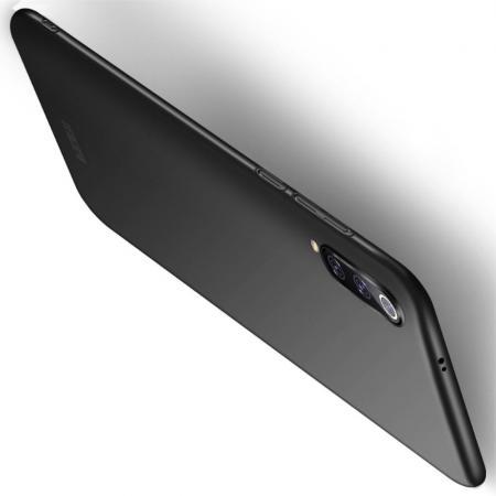 Ультратонкий Матовый Кейс Пластиковый Накладка Чехол для Xiaomi Mi 9 Черный
