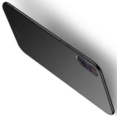 Ультратонкий Матовый Кейс Пластиковый Накладка Чехол для Xiaomi Mi 9 Pro Черный