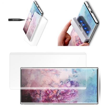 Закаленное Изогнутое Защитное MOCOLO Tempered 3D Стекло для Galaxy Note 10 Plus Прозрачное