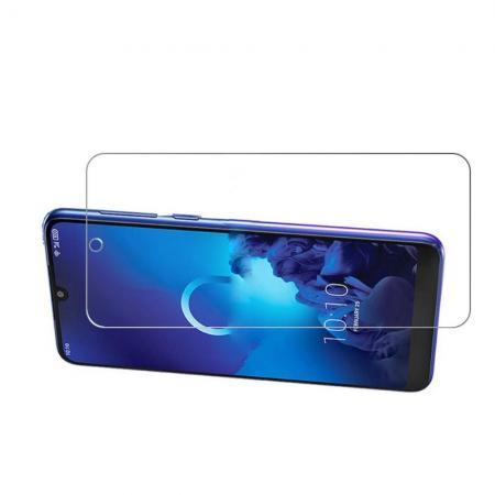 Закаленное Олеофобное DF Full Screen Защитное Стекло Прозрачное для Alcatel 3 2019 5053Y