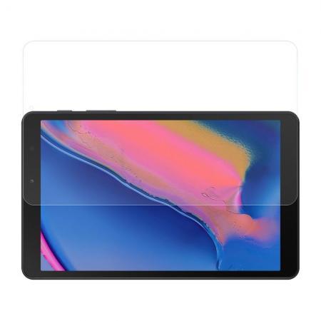 Закаленное Олеофобное DF Full Screen Защитное Стекло Прозрачное для Samsung Galaxy Tab A 8.0 2019 SM-P200 SM-P205