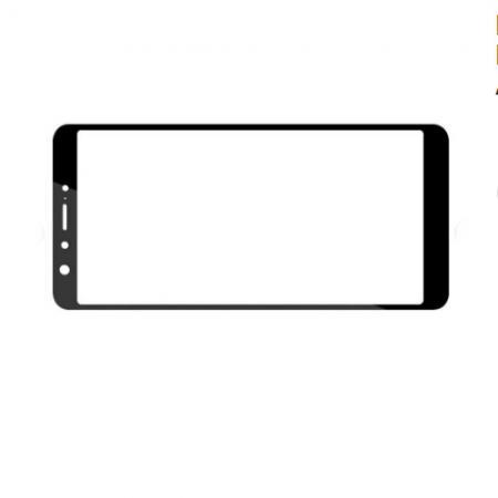 Закаленное Полноклеевое Full Glue Screen Cover DF Pro+ Стекло для Asus Zenfone Max Pro M1 ZB602KL Черное