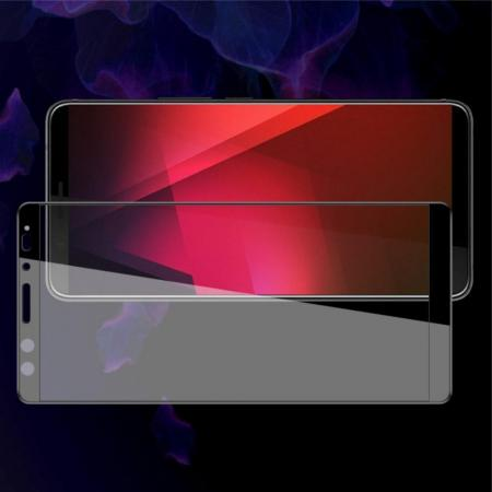 Закаленное Полноклеевое Full Glue Screen Cover IMAK Pro+ Стекло для HTC U12+ Черное