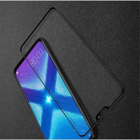 Закаленное Полноклеевое Full Glue Screen Cover IMAK Pro+ Стекло для Huawei Honor 8X Черное