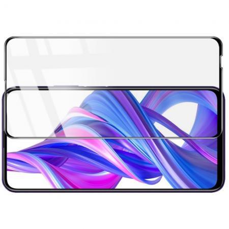 Закаленное Полноклеевое Full Glue Screen Cover IMAK Pro+ Стекло для Huawei Honor 9X Pro / Honor 9X Черное