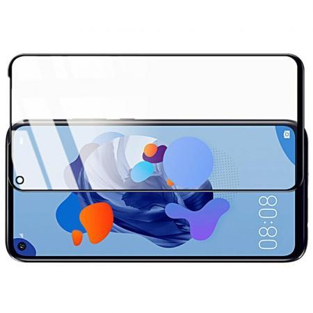 Закаленное Полноклеевое Full Glue Screen Cover IMAK Pro+ Стекло для Huawei Mate 30 Lite Черное