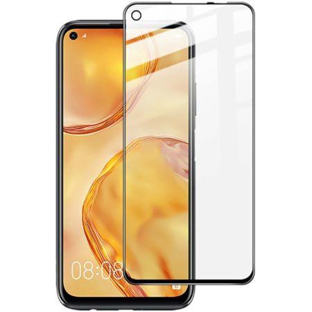 Закаленное Полноклеевое Full Glue Screen Cover Стекло для Huawei P40 Lite Черное