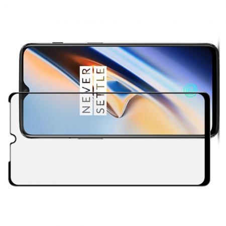 Закаленное Полноклеевое Full Glue Screen Cover IMAK Pro+ Стекло для Oneplus 6T Черное