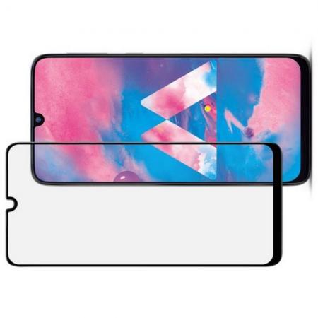 Закаленное Полноклеевое Full Glue Screen Cover IMAK Pro+ Стекло для Samsung Galaxy M30 / A30 / A50 / A20 Черное