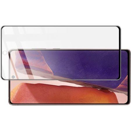 Закаленное Полноклеевое Full Glue Screen Cover IMAK Pro+ Стекло для Samsung Galaxy Note 20 Ultra Черное