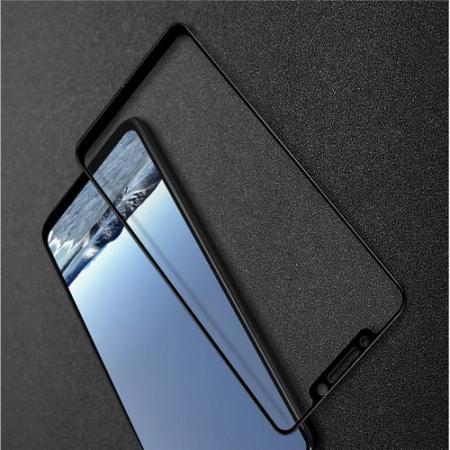 Закаленное Полноклеевое Full Glue Screen Cover IMAK Pro+ Стекло для Xiaomi Pocophone F1 Черное