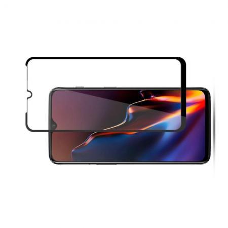 Закаленное Полный Охват Экрана MOCOLO Tempered Стекло для Oneplus 6T Черное