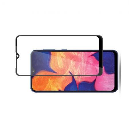 Закаленное Полный Охват Экрана MOCOLO Tempered Стекло для Samsung Galaxy A10 Черное