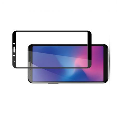 Закаленное Полный Охват Экрана MOCOLO Tempered Стекло для Samsung Galaxy A6s Черное
