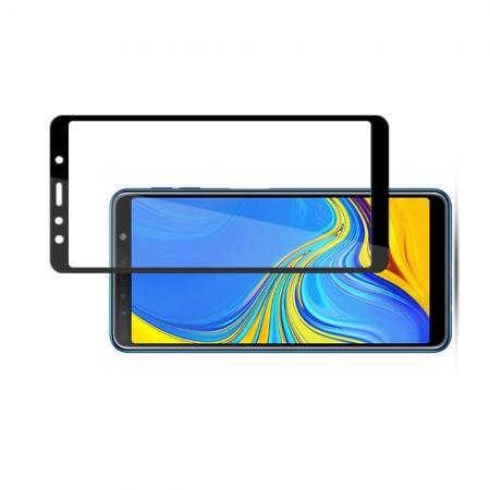 Закаленное Полный Охват Экрана MOCOLO Tempered Стекло для Samsung Galaxy A7 2018 SM-A750 Черное