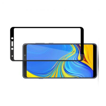 Закаленное Полный Охват Экрана MOCOLO Tempered Стекло для Samsung Galaxy A9 2018 SM-A920F Черное