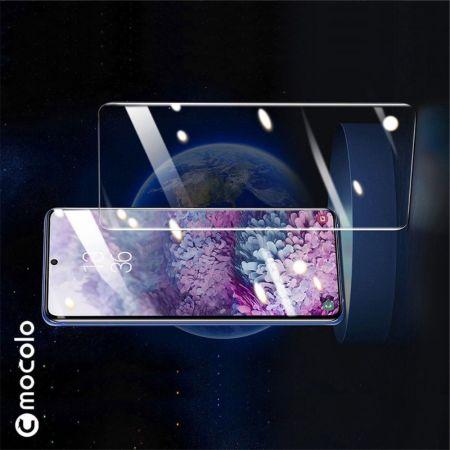 Закаленное Полный Охват Экрана MOCOLO Tempered Стекло для Samsung Galaxy S20 Черное