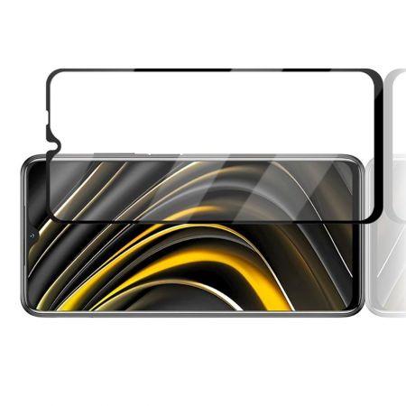 Закаленное Полный Охват Экрана MOCOLO Tempered Стекло для Xiaomi Poco M3 Черное