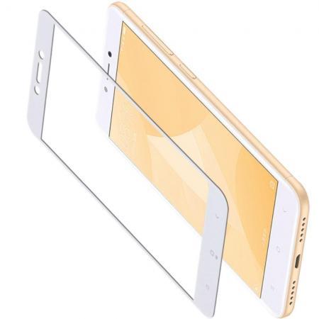 Закаленное Полный Охват Экрана MOCOLO Tempered Стекло для Xiaomi Redmi 4X Белое