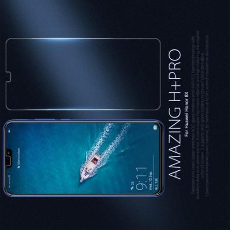 Закаленное Защитное Олеофобное NILLKIN H+PRO Прозрачное стекло на экран Huawei Honor 8X