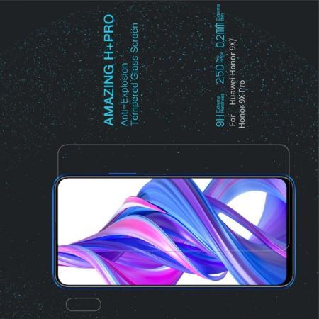 Закаленное Защитное Олеофобное NILLKIN H+PRO Прозрачное стекло на экран Huawei Honor 9X Pro / Honor 9X