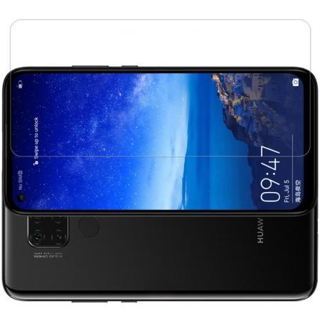 Закаленное Защитное Олеофобное NILLKIN H+PRO Прозрачное стекло на экран Huawei Mate 30 Lite