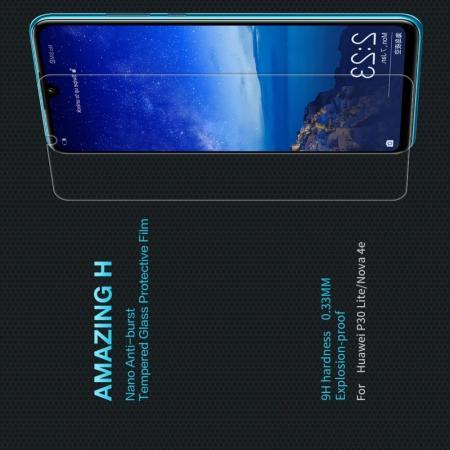 Закаленное Защитное Олеофобное NILLKIN H Прозрачное стекло на экран Huawei Honor 20S