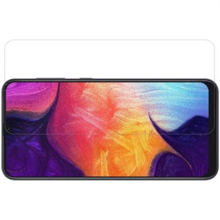 Закаленное Защитное Олеофобное NILLKIN H Прозрачное стекло на экран Samsung Galaxy A50 / A30 / A20
