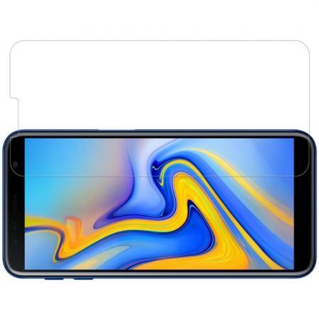 Закаленное Защитное Олеофобное NILLKIN H Прозрачное стекло на экран Samsung Galaxy J6+ 2018