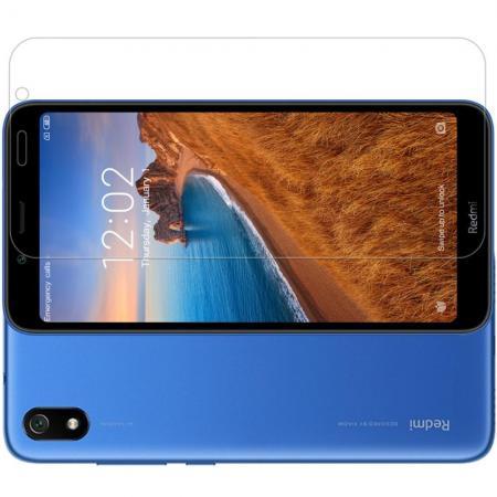 Закаленное Защитное Олеофобное NILLKIN H Прозрачное стекло на экран Xiaomi Redmi 7A