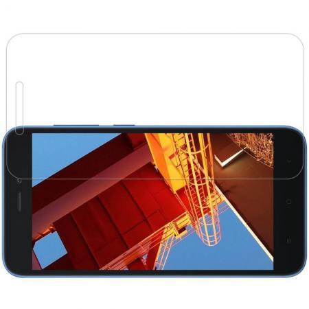 Закаленное Защитное Олеофобное NILLKIN H Прозрачное стекло на экран Xiaomi Redmi Go